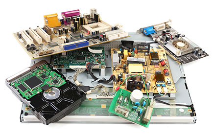 Destrucción y reciclaje de electrónica - Grupo Ecológico MAC
