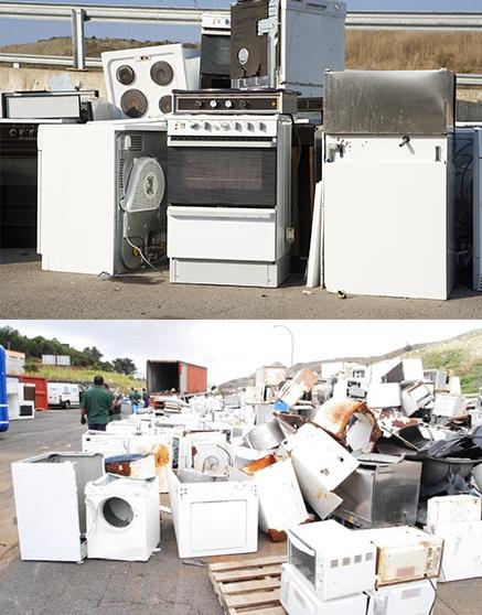 Reciclaje de línea blanca y refrigeración - Grupo Ecológico MAC