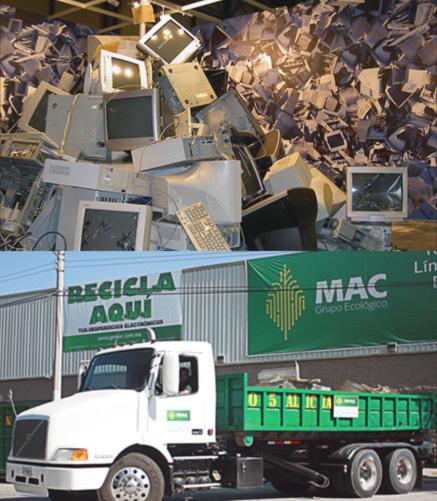 Recolección de residuos y fletes - Grupo Ecológico MAC